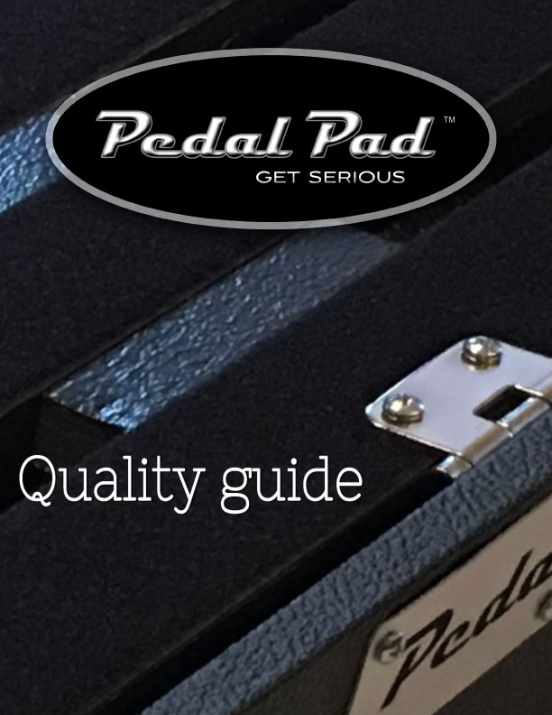 Pedal Pad Quality Document